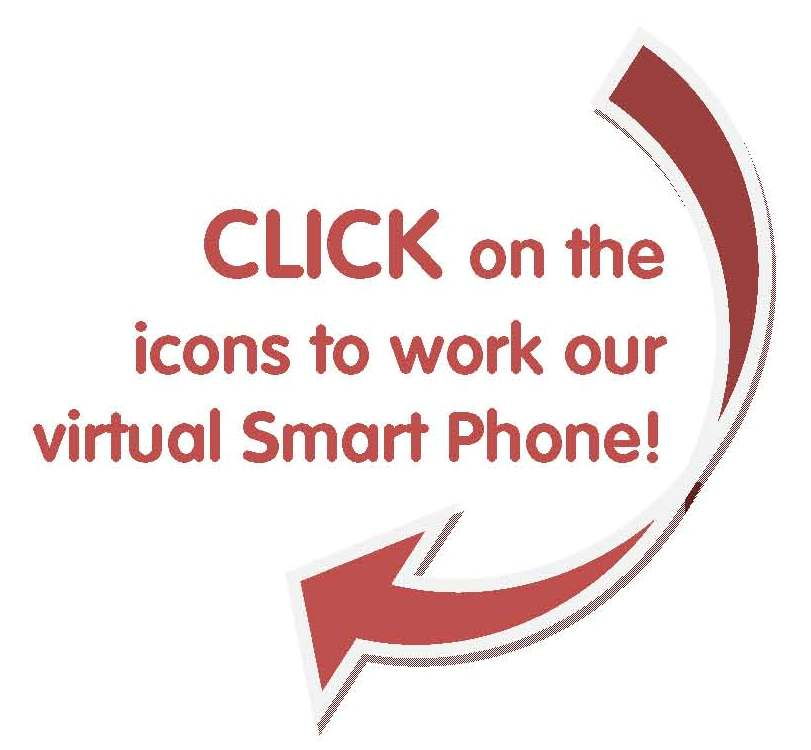 Click on the virtual phone